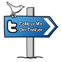 Follow me on Twitter ..